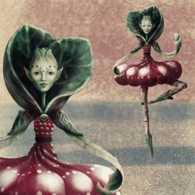 Botanic Person - digital paint