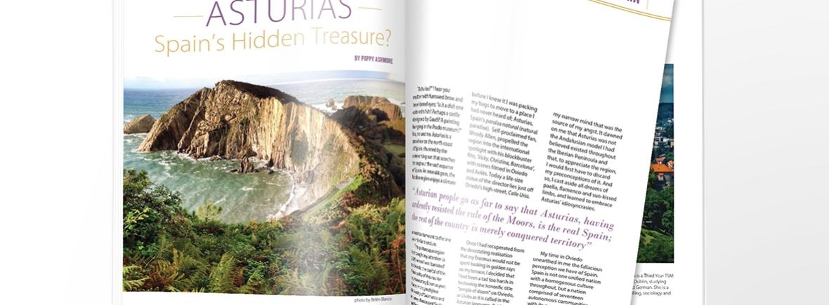 Trinity Frontier Magazine Layout